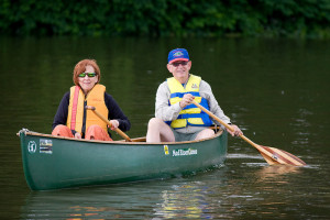 Two kayakers_SusquehannaGreenwayPartnership